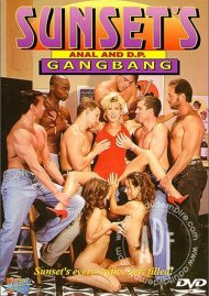 Sunset's Anal and D.P. GangBang Porn Video