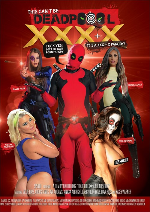 This Can't Be Deadpool XXXX porn video from Spizoo.