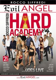 Rocco Siffredi Hard Academy Part 4 . . . Goes Live DVD porn movie from Evil Angel.