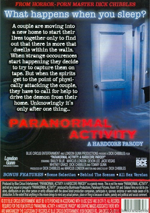 Pulse Pictures Presents Paranormal Activity: A Hardcore Parody