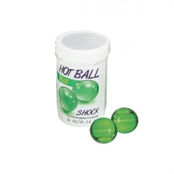 Hot Balls Plus - Shock - 2 Lube Balls Sex Toy