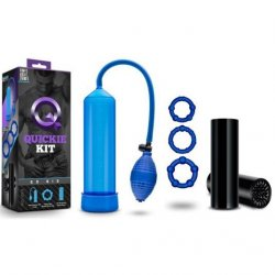 Blush Quickie Kit - Go Big Blue Sex Toy