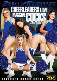 Cheerleaders Love Massive Cocks DVD porn movie from Zero Tolerance Ent.