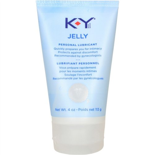 KY Jelly Stand-Up Tube - 4 oz. lubricant.