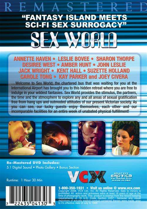 Back cover of Sex World