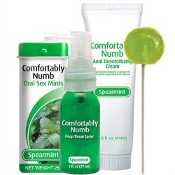Comfortably Numb Pleasure Collection - Spearmint Sex Toy