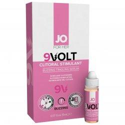 System JO Volt - 9V Buzzing Clit Stimulant Gel - .17 oz (5 ml) Sex Toy