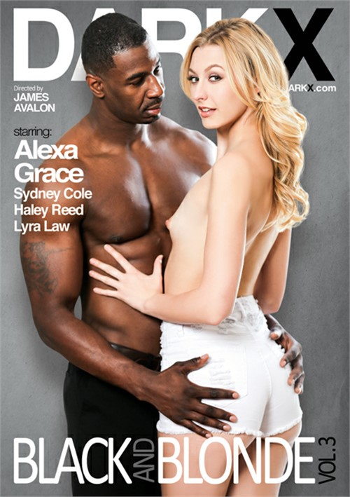 Blonde and black porn