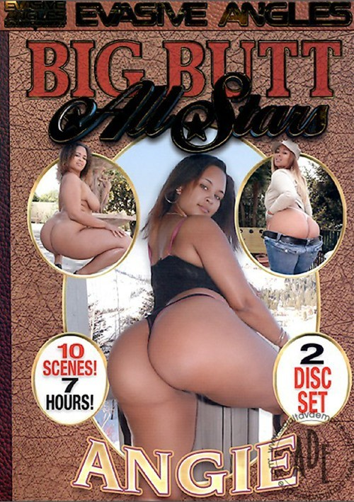 Big Butt All Stars Angie 2006  Adult Dvd Empire-8523