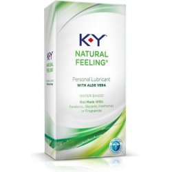 K-Y Natural Feeling with Aloe Vera - 1.69oz Sex Toy