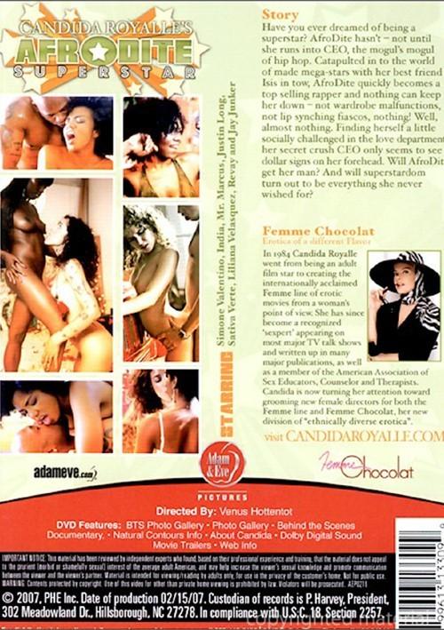 Back cover of Afrodite Superstar