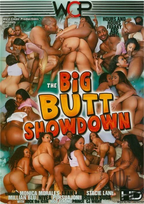 black butt showdown orgy