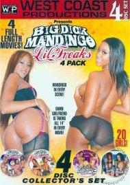 Big Dick Mandingo Lil Freaks 4-Pack Porn Movie