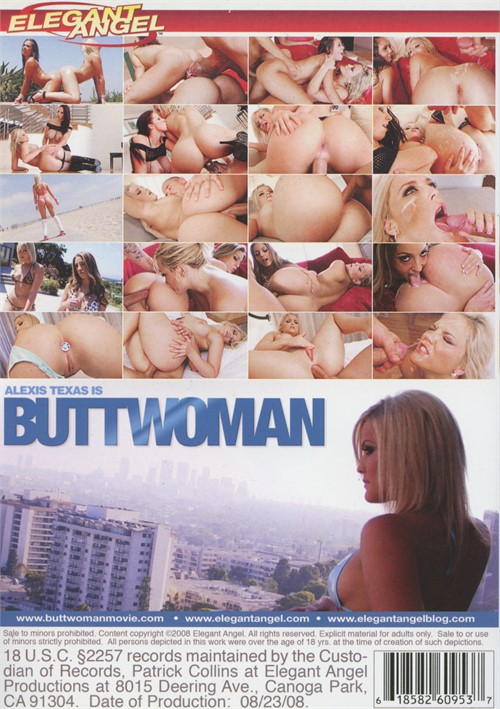 Back cover of Alexis Texas Is Buttwoman
