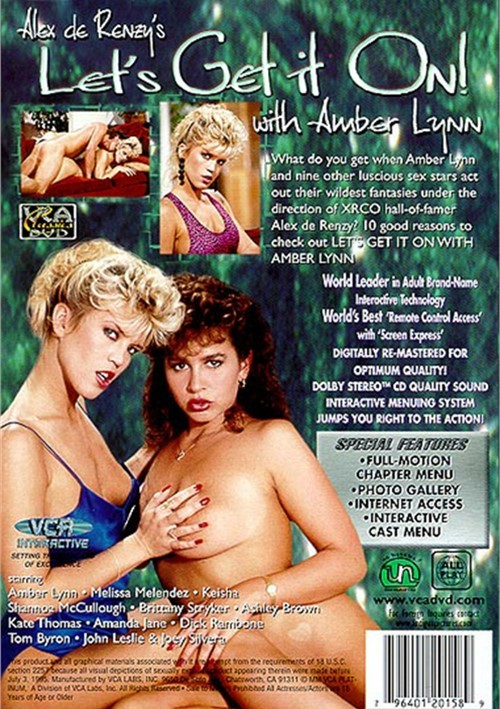 Back cover of Let's Get It On With Amber Lynn