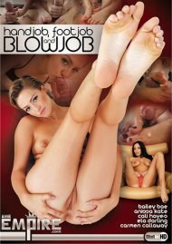 Handjob, Footjob And Blowjob Porn Video