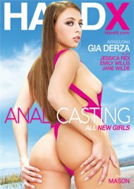 Anal Casting DVD porn movie from HardX.