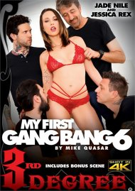 My First Gang Bang 6 DVD porn movie from Third Degree Films.