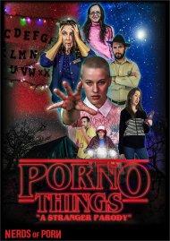 Porno Things: A Stranger Parody Porn Video
