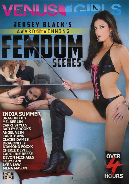 Jersey Black's Award Winning Femdom Scenes porn video