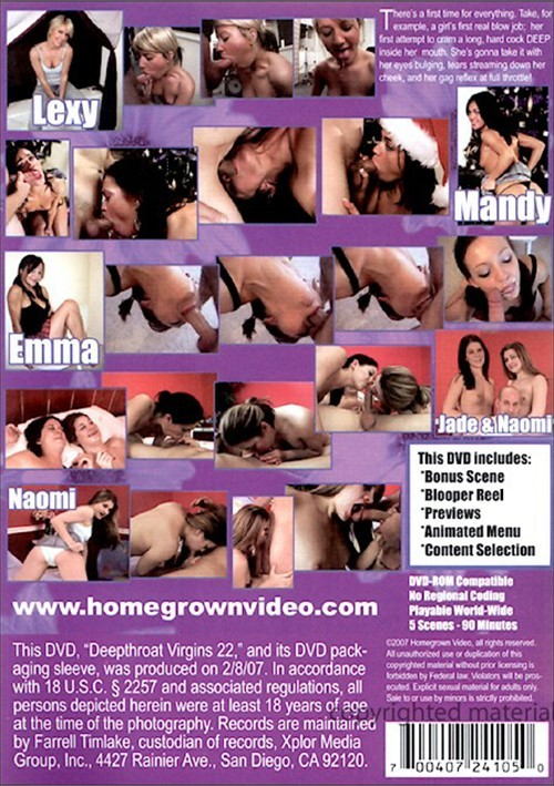 This deepthroat virgins 18 dvd thanks