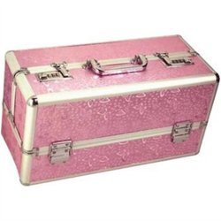 Lockable Sex Toy Storage Case - Pink - Large Sex Toy