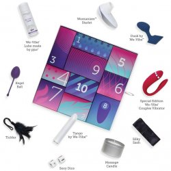 We-Vibe Discover 10 Day Intimate Gift Box Collection Sex Toy