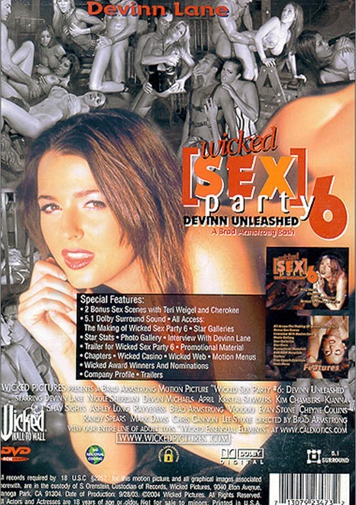 Wicked sex party dvd