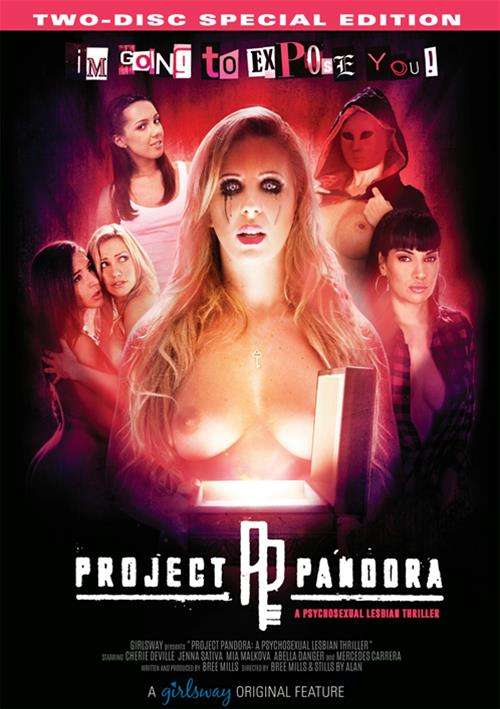 Project Pandora porn video from Girlsway.