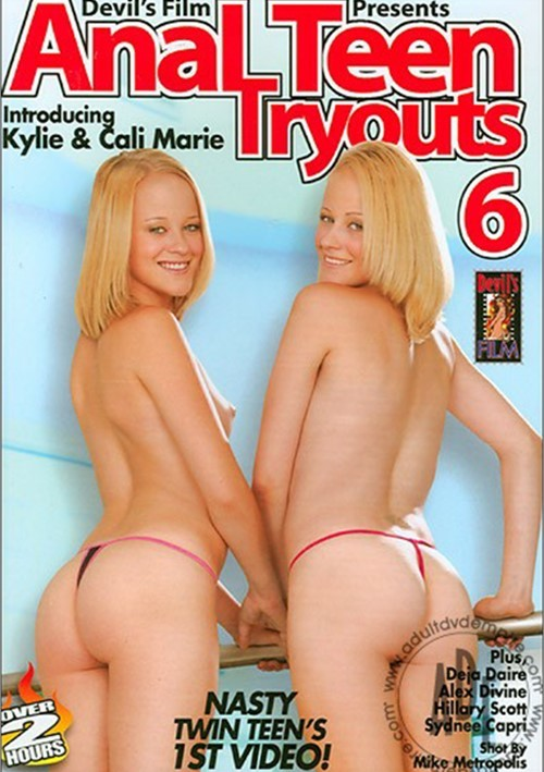 Teen anal try outs
