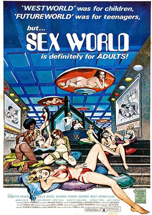 Sex World porn video from Vinegar Syndrome.