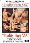 Reality Porn XXX Volume #25 Boxcover