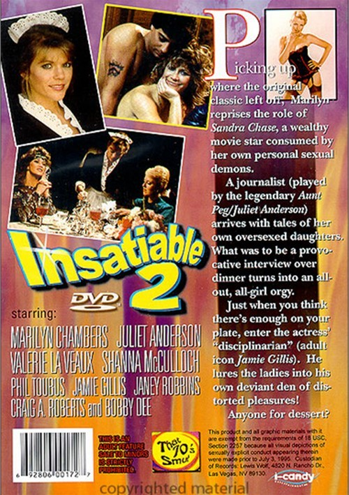 Back cover of Insatiable II