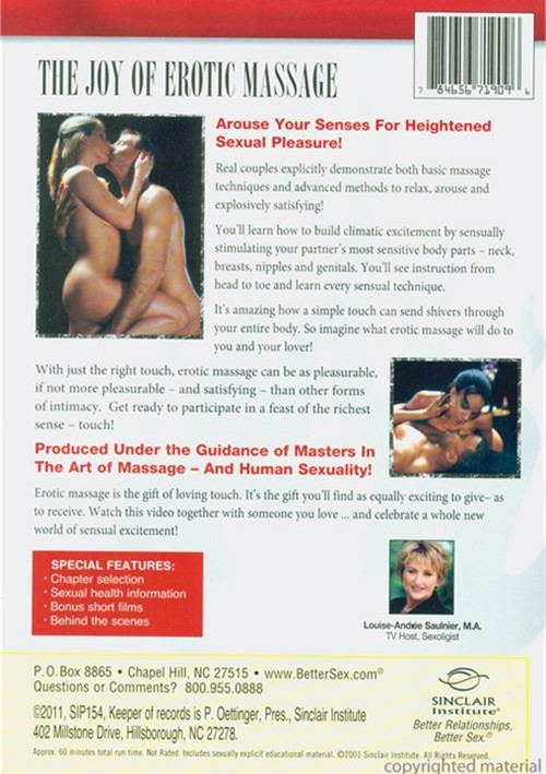 sex in the massage sex dvd