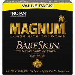 Trojan Magnum Bareskin - 24 Pack Sex Toy