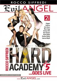 Rocco Siffredi Hard Academy Part 5 . . . Goes Live HD porn movie from Evil Angel.