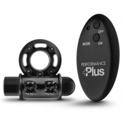 Performance Plus Thunder Wireless Remote Cock Ring - Black Sex Toy