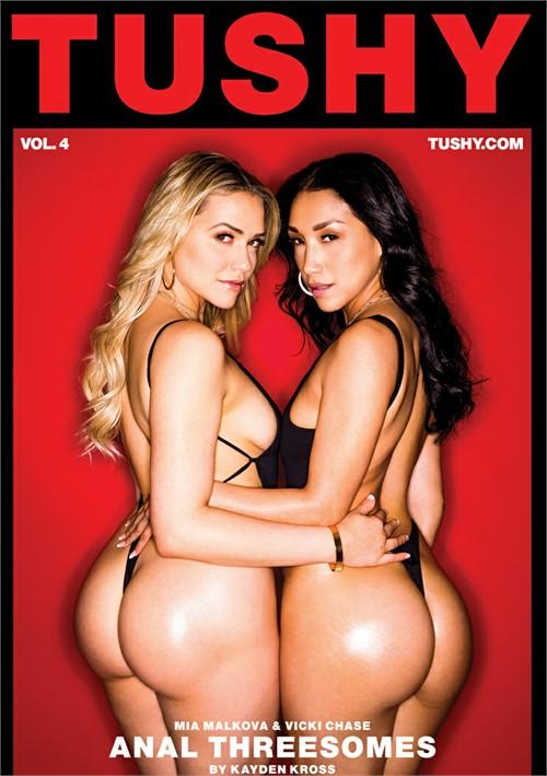 Mia Malkova and more stars in Anal Threesomes Vol. 4 DVD porn movie.