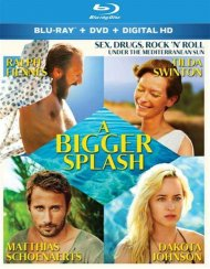 Bigger Splash, A (Blu-ray + DVD + UltraViolet) Blu-ray Movie