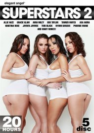 Superstars 2 porn DVD from Elegant Angel.