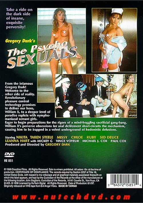 Back cover of Psychosexuals
