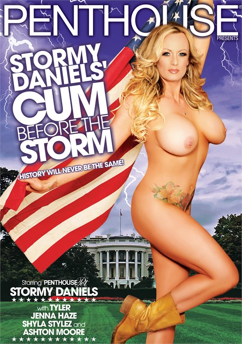 Stormy Daniels' Cum Before The Storm porn video from Penthouse.
