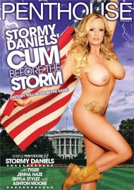 Stormy Daniels' Cum Before The Storm DVD porn movie from Penthouse.