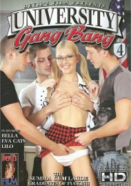 University Gang Bang 4 Porn Movie
