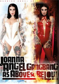 Joanna Angel Gangbang: As Above So Below porn video from Burning Angel Entertainment.