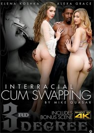 Interracial Cum Swapping streaming porn video from 3rd Degree.