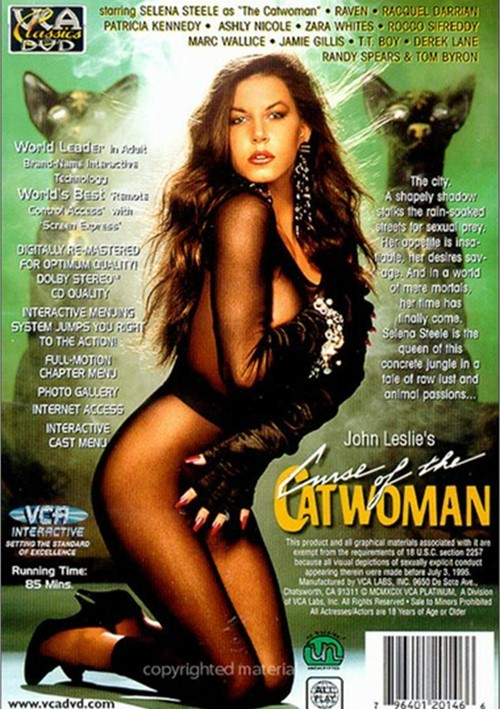 Back cover of Curse Of The Catwoman