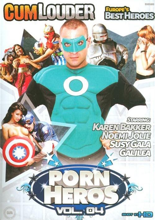 CumLouder Present Porn Heros Vol. 4 Parody Movies