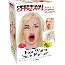 Pipedream Extreme Toys: Hot Water Face Fucker - Blonde Sex Toy