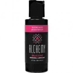 Alchemy Silicone Based Lube – 2oz. lubricant from Metro Toys.